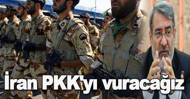 İran PKK'yı vuracağız