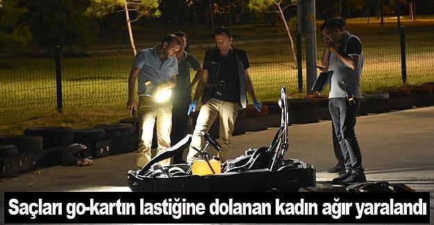 Samsun'da go-kart kazası 1 kişi ağır yaralı