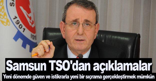 Samsun TSO'dan önemli açıklamalar