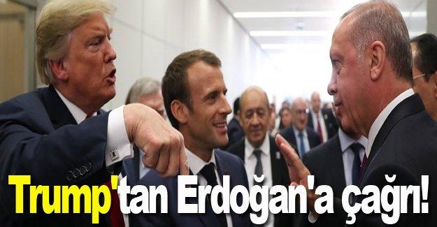 Trump'tan Erdoğan'a Papaz çağrısı!