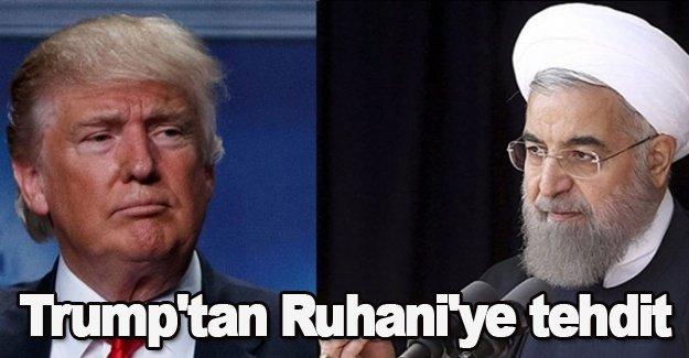Trump'tan Ruhani'ye tehdit