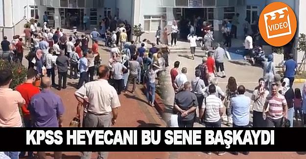 Türkiye'de KPSS heyecanı