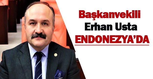 Başkanvekili Erhan Usta Endonezya'da.