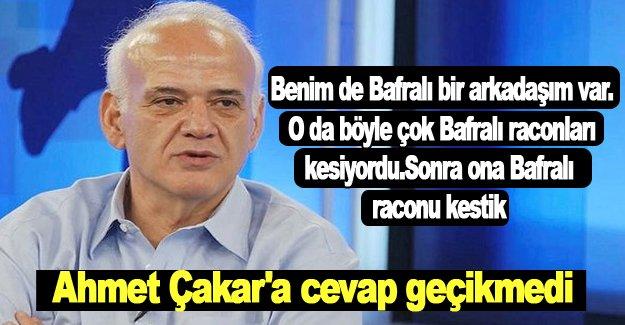Ahmet Çakar,Bafralıların tepkisini topladı