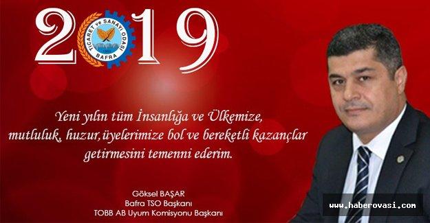 Başkan Başar'dan Yeni Yıl Kutlama Mesajı