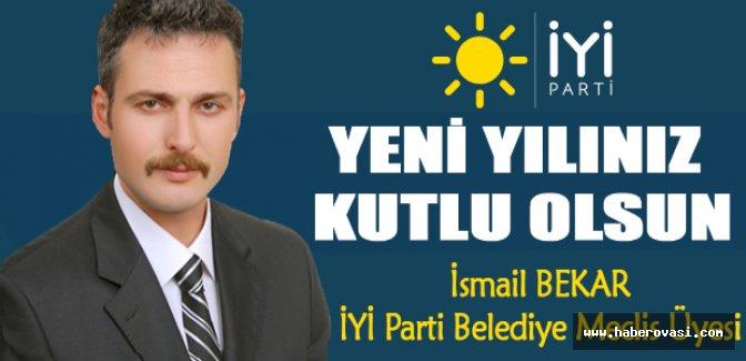 İsmail Bekar'dan yeni yıl mesajı