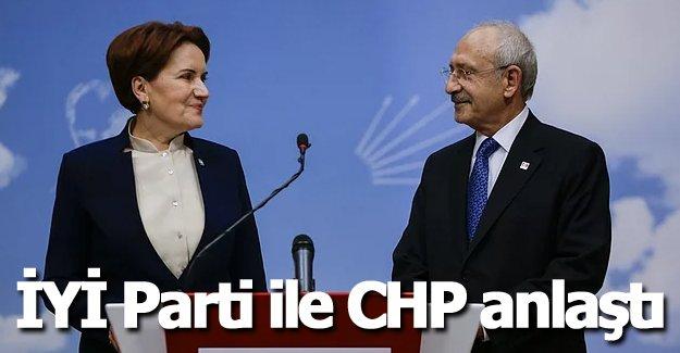İYİ Parti ile CHP anlaştı