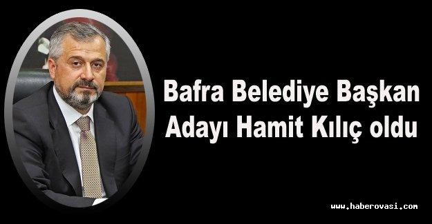 Ak Parti Bafra Başkan Adayı Hamit Kılıç