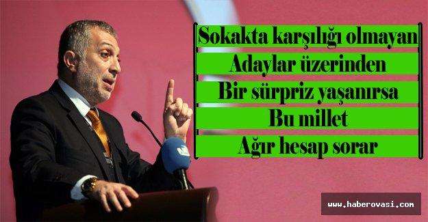 AK Parti`li Külünk`ten Yerel Seçim Uyarısı!