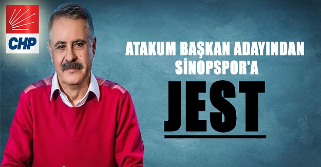 Atakum Başkan Adayından Sinopspor'a Jest