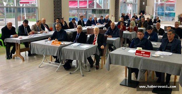 Bafra Belediyesi Ocak ayı toplantısı gerçekleştirdi