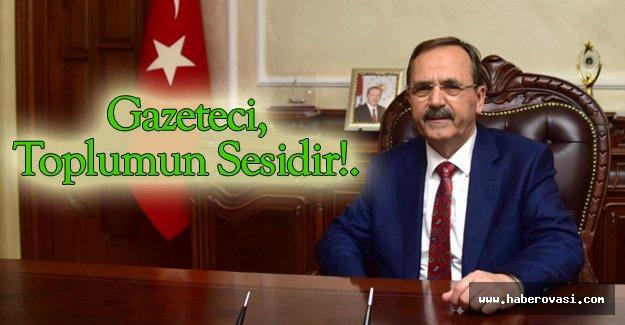 Başkan Zihni Şahin'den '10 Ocak' mesajı