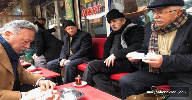 CHP İzmir Vekili Tacettin Bayır Samsun`da