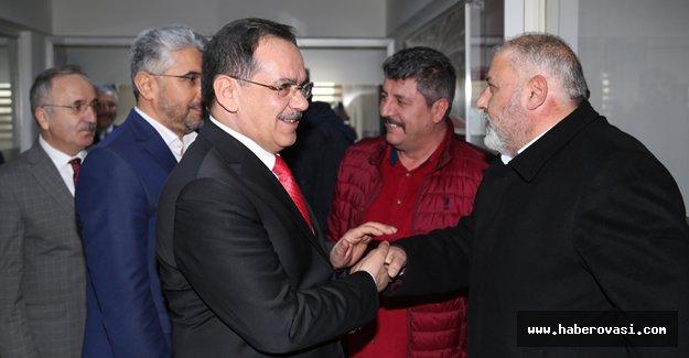 Demir'den MHP İl başkanlığına ziyaret
