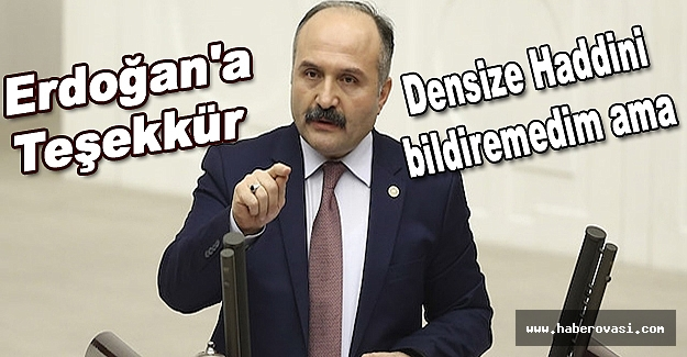 Erhan Usta Karaduman'a densiz dedi