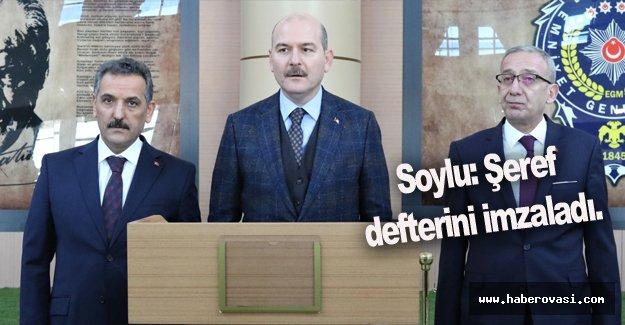 İçişleri Bakanı Süleyman Soylu, Samsun'da