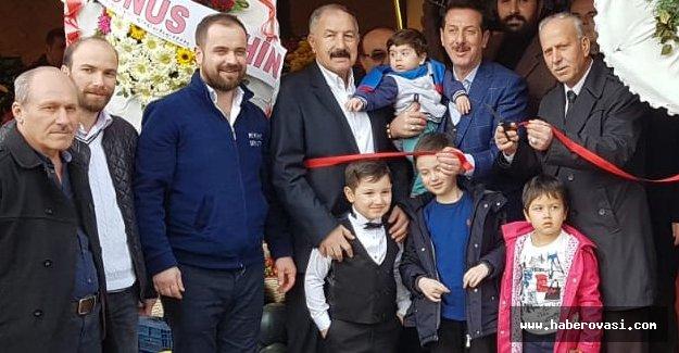 MHP İl Başkanı Karapıçak açılışa katıldı