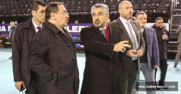 Mustafa Demir hazırlıkları yerinde inceledi
