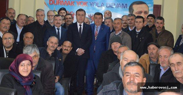 Özdemir'e Havza tanıtım toplantısı