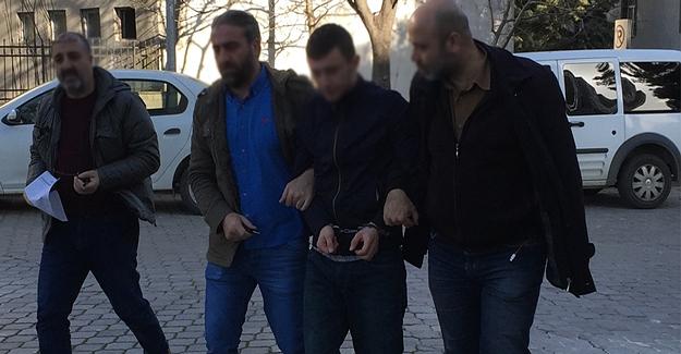 Samsun'da aranan bir kişi yakalandı