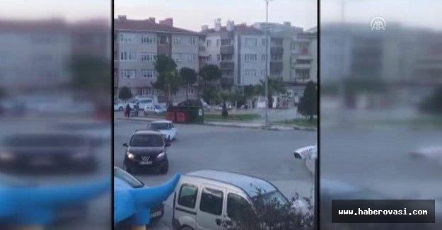 Samsun'da Drift yapan sürücüye ceza yağdı