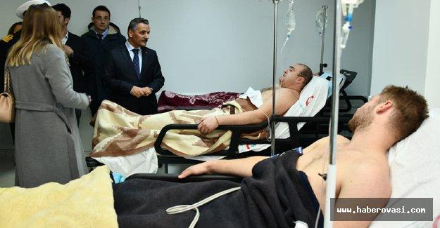 Samsun'da Gemi battı 6 kişi öldü