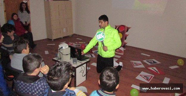 Samsun'da özel öğrencilere özel trafik eğitimi