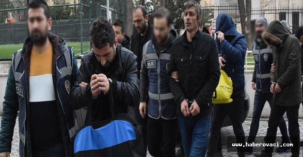 Samsun'da Silah kaçakçılığı 3 tutuklama