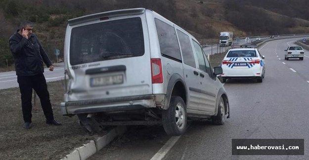 Samsun'da Trafik kazası 1 ölü 1 yaralı