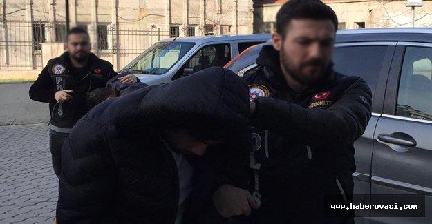 Samsun'da uyuşturucu ticareti 1 tutuklama