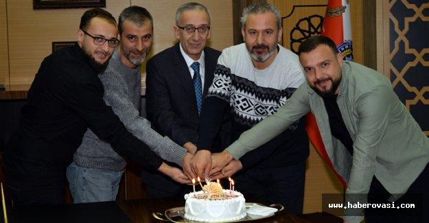 Samsun Emniyet Müdürü muhabirleri unutmadı