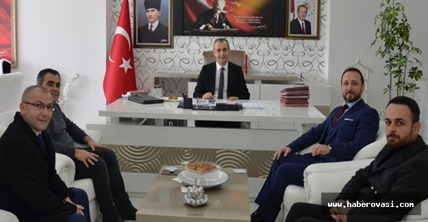 Türk Eğitim Sen'den Kaymakam Adanur' a Ziyaret