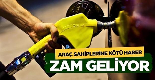 Benzin ve Mazot'a zam