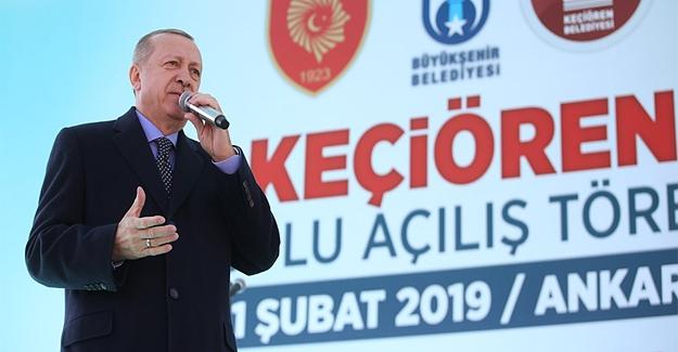 Erdoğan'dan Müjdeli açıklamalar