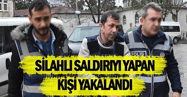 Samsun'da Silahlı saldırıyı yapan şahıs yakalandı