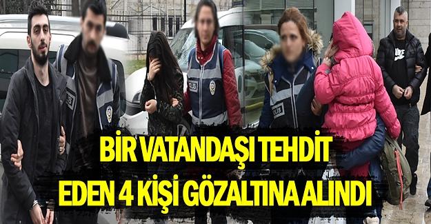 Samsun'da yağma, şantaj ve tehdit iddiası