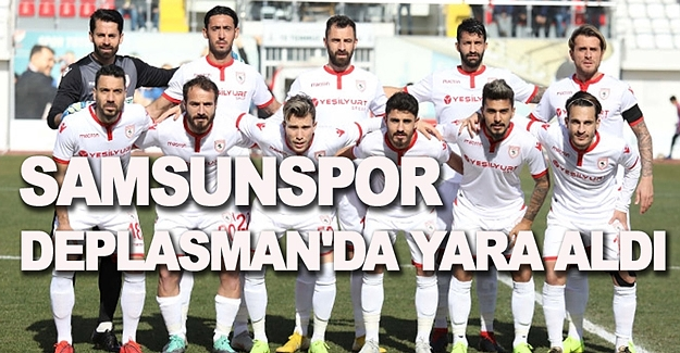 Samsunspor Sancaktepe'ye yenildi