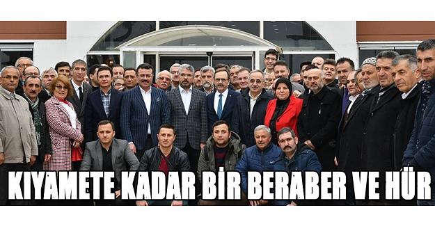 Zihni Şahin AK Parti ve MHP'lilerle toplandı