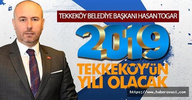 Başkan Togar`dan  Yeni Yıl Mesajı