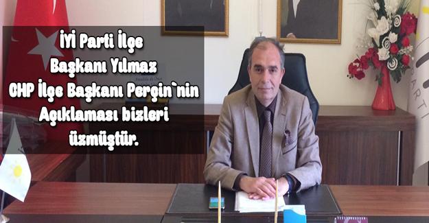 Başkan Yılmaz CHP`nin Açıklaması Bizi Üzmüştür.