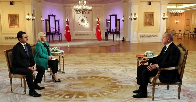 Erdoğan Ortak yayına katıldı