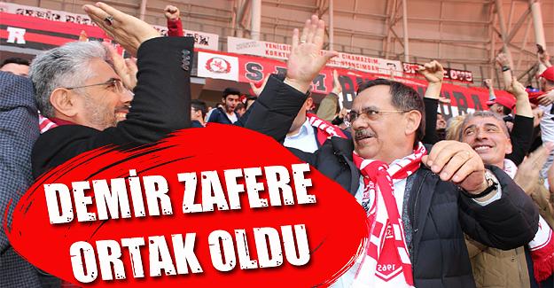 Mustafa Demir Zafer'e ortak oldu