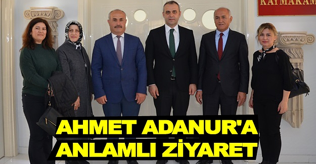 Ahmet Adanur'a anlamlı ziyaret