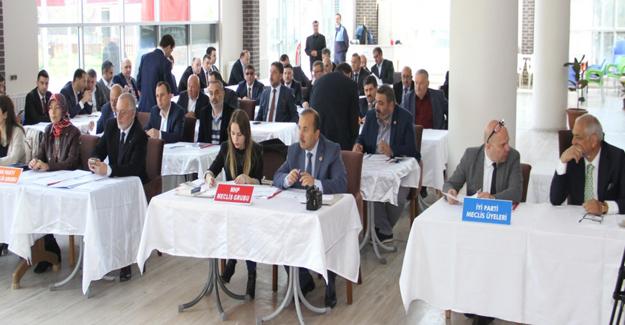 Bafra Belediye Meclisi toplandı