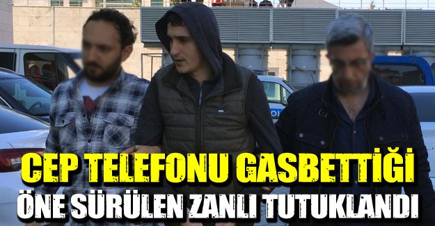 Samsun'da Gaspçı genç tutuklandı