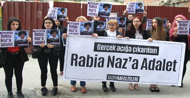 Samsun'da Rabia Naz eylemi!