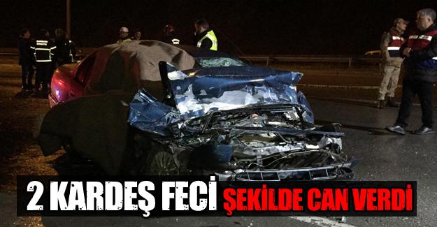 Samsun'da Trafik Kazası 2 ölü