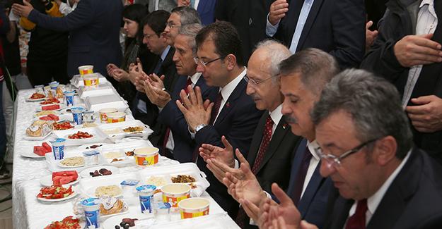 Kılıçdaroğlu Samsun'da iftar açtı