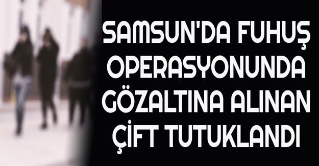 Samsun'da fuhuş operasyonu 2 tutuklama
