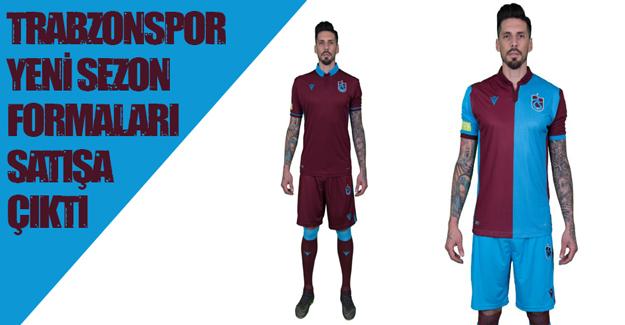 Trabzonspor  formaları satışa çıktı